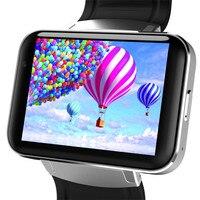 Новинка 3G Smartwatch телефон Android 2,2 дюймов Wi Fi Bluetooth gps smart watch Шагомер сна сенсорный экран карты громкой связи светодио дный HD