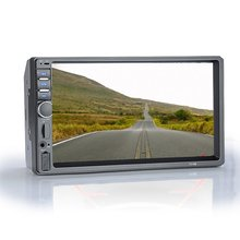 7018B 7 Inch Color Screen Lcd Display Dual Spindle Machine Player Hd Car Monitor Car Mp5 Car Mp5 Player