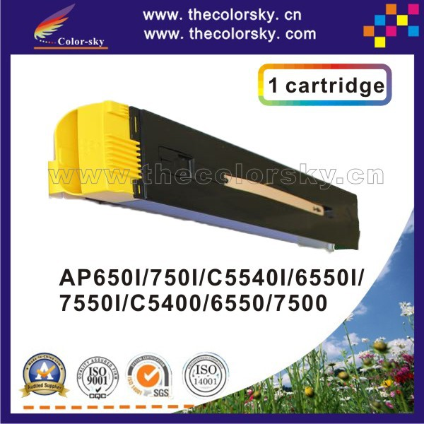 (CS-XDCC6550) compatible toner cartridge for Xerox Docucentre II C5400 6500 7500 5400 CT200570 CT200571 kcmy 31.7k/31.7k freedhl ct350737 c4100 chip laser printer cartridge chip reset for xerox docucentre ii docucentre iii c4100 c3100 drum chip