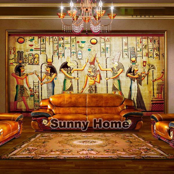 European style ancient egypt moral business ktv bar