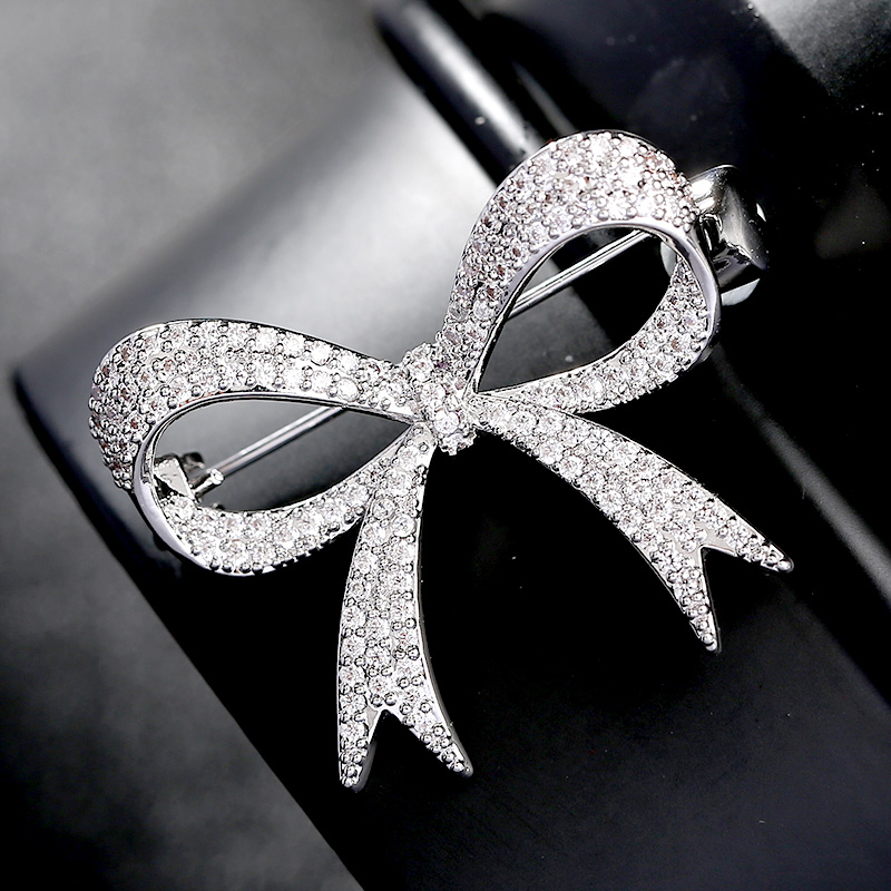 Luxe strass mariage noeud noeud broche broche robe ceinture Broches mariée mariage Bouquet Broches bijoux cadeau Broches Mujer