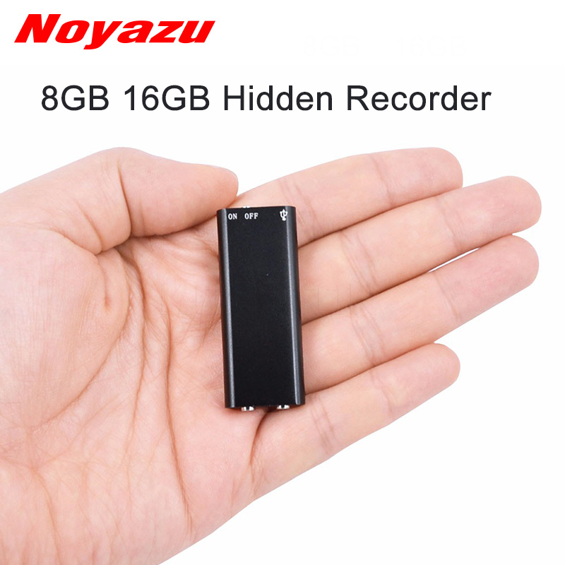 Unterhaltungselektronik Neueste Kollektion Von Noyazu Professional Mini Diktiergerät 8 Gb Voice Recorder Kleine Digital Audio Recorder Usb-stick Gravador De Voz Mp3 Player Digital Voice Recorder