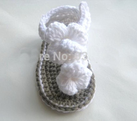 Baby Sandals Crochet Pattern Heel Strap, Crochet Baby Shoes 10 Pairs ...