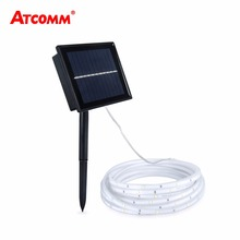 2835 Solar Led Strip Light 5 Meters IP68 Waterproof 2 Modes LED Diode Ribbon 20 LEDs/M RGB Tape Lamp Outdoor Decoration Lighting