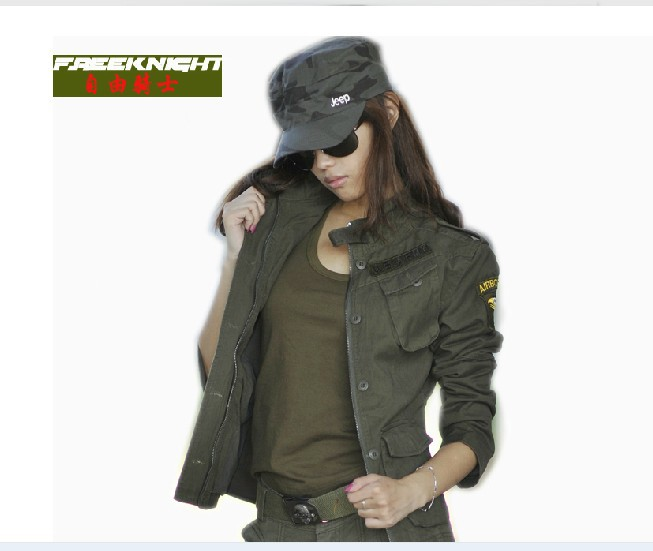 ФОТО Outdoor Camouflage Women 0756-2 Airborne Division flight jacket women