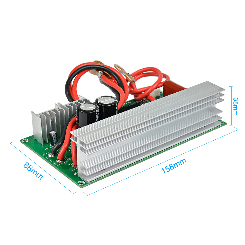 SUNYIMA 1000W 12V 24V  To AC220V Pure Sine Wave Power Frequency Inverter Board Pure Sine Wave Booster Module-in Inverters & Converters from Home Improvement    3