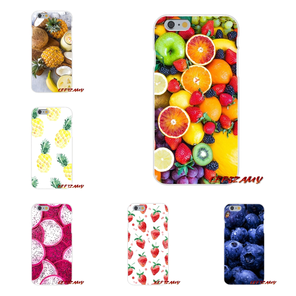 Fruit painting Slim Silicone phone Case For Motorola Moto G LG Spirit G2 G3 Mini G4 G5 K4 K7 K8 K10 V10 V20 V30