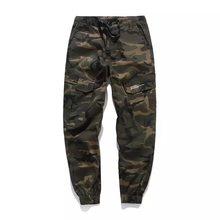 e84e900417 Clásico de moda Pantalones del Ejército de la calle de algodón pantalones  vaqueros de los hombres
