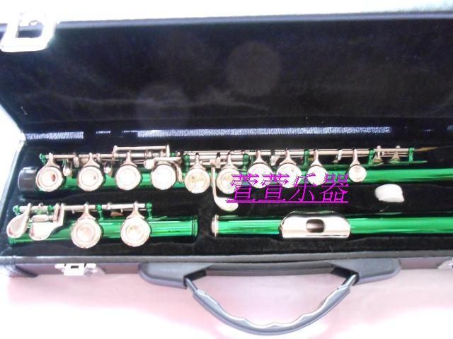 musical instrument Flute 16 Closed hole C Professional Synth and E-Key free music excellence color 16 closed hole purple flute e case c key