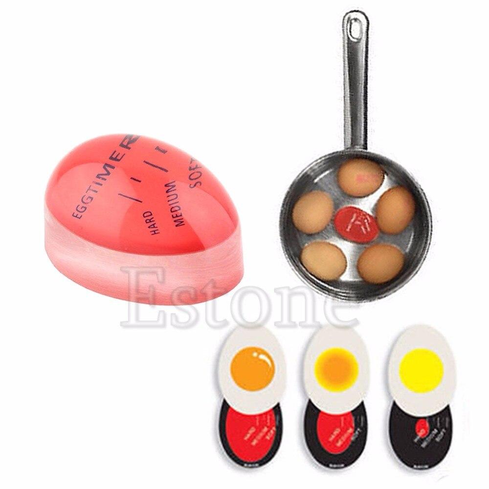 Яйцо идеально Цвет изменение таймер Yummy мягкий яйца вкрутую Пособия по кулинарии Кухня AU Z07 Прямая доставка