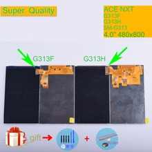 ORIGINAL LCD For Samsung Galaxy Ace NXT G313 G313F G313H SM-G313 Display Screen SM Replacement