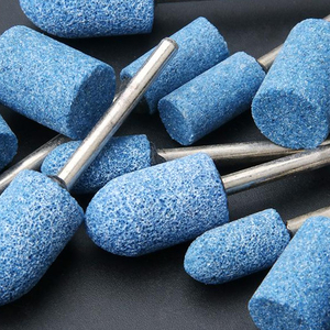 Image 5 - שוחקים רכוב אבן נקודות חשמלי טחינת אביזרי ליטוש ראש גלגל כלי עבור Dremel רוטרי כלי חשמל
