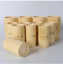 Health protection pure natural bamboo jar of cupping a suit bamboo cupping to spill cupping apparatus body massager