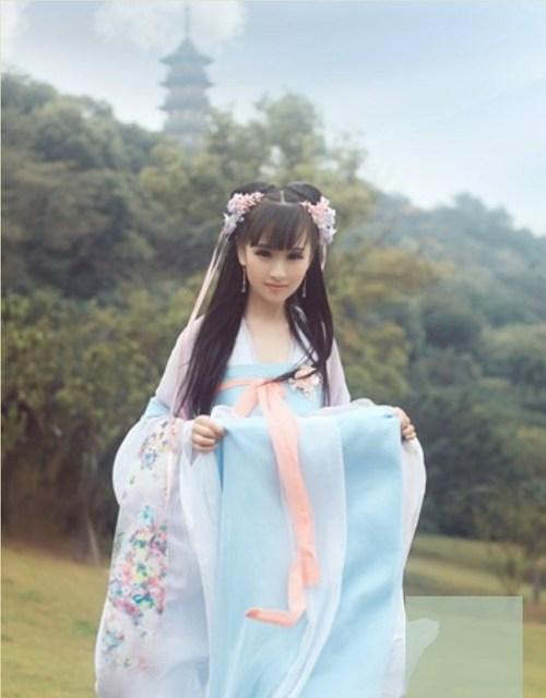 2018 winter Traditional Women Tang Ancient Chinese Costume Beautiful Dance Hanfu Costume Princess Dynasty Chinese Hanfu Dress