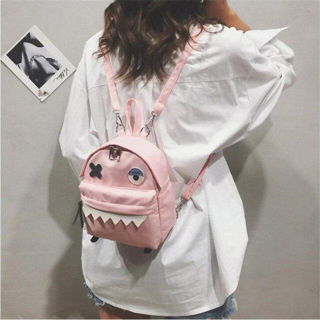 Рюкзак с монстром корейский Стиль 3