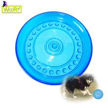 Environmental Food Grade TPR Material Pet Dog Toy Interactive trainning Frisbee