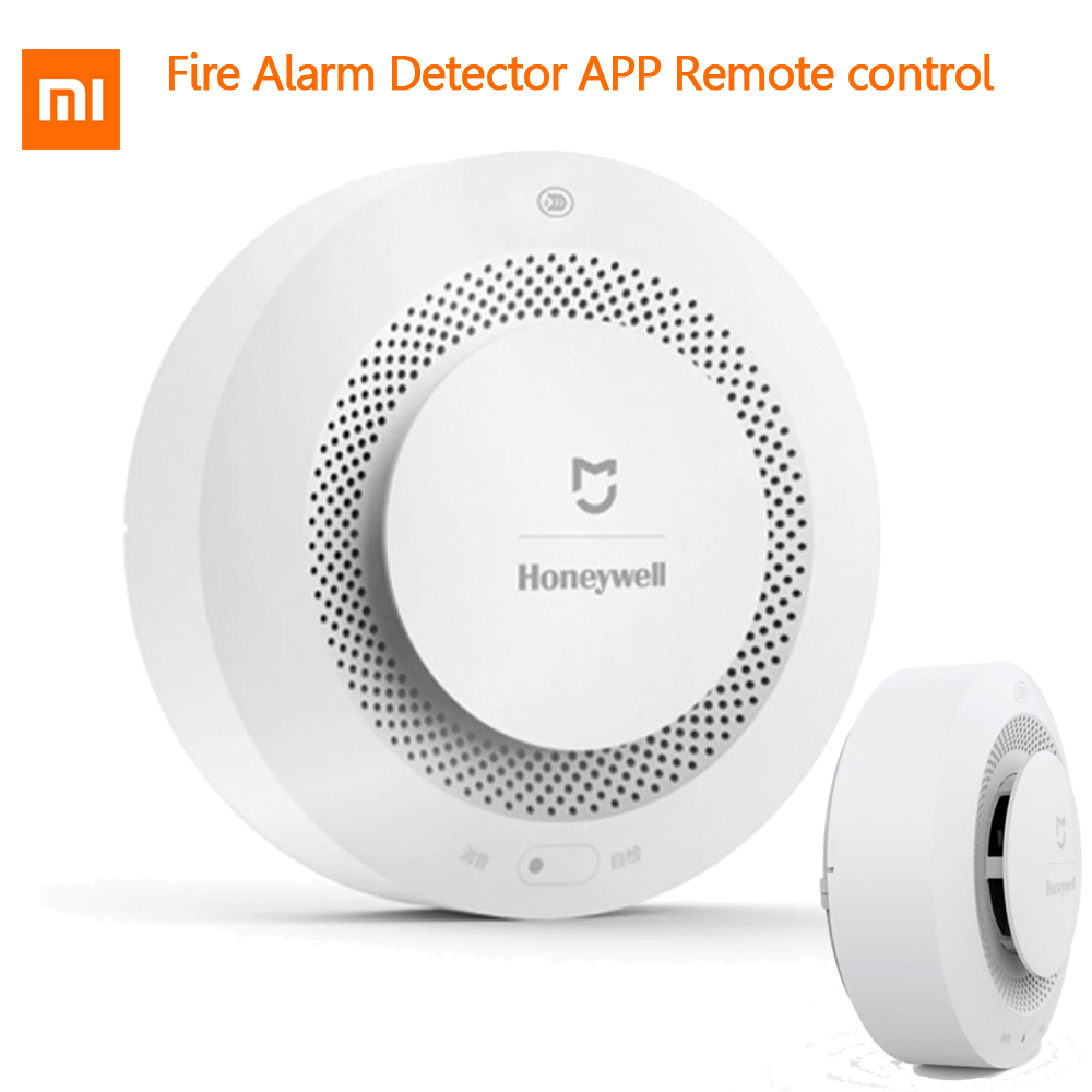 Dependable Xiaomi Mijia Honwell Fire Alarm Gas Detector Smoke Sensor Work With Multifunction Gatway 2 Smart Home Security App Control Up-To-Date Styling