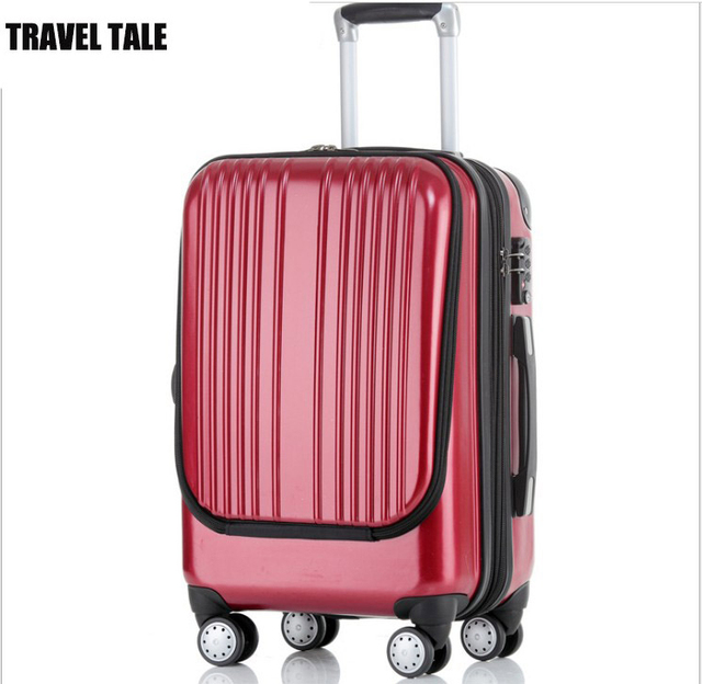 f0f8b41e6 TRAVEL TALE 20 inch Travel suitcase rolling luggage hardside spinner  trolley bag computer bag