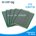 10pcs high quatity!! Double Side Prototype PCB diy Universal Printed Circuit Board 5x7cm