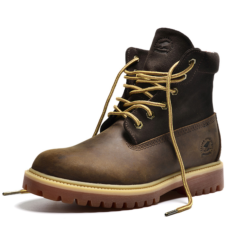 top quality winter boots genuine leather boots