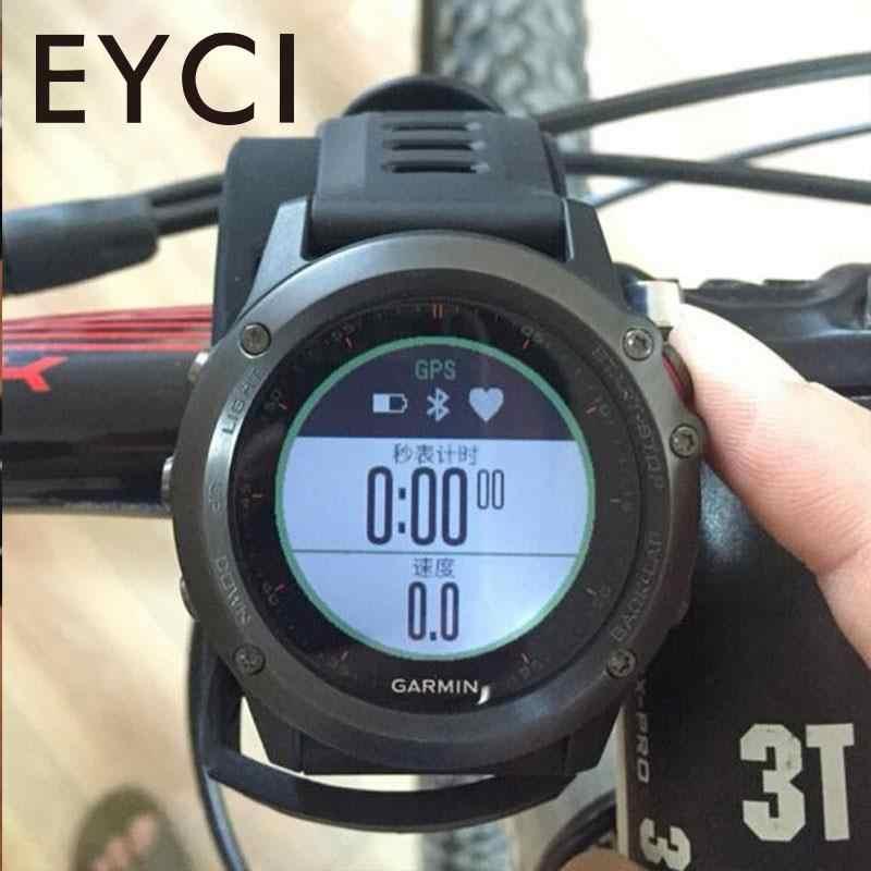 Bicicleta titular do computador ciclismo cronômetro gps velocímetro guiador montar proteger caso para garmin410 910xt 610 fenix 3 d2