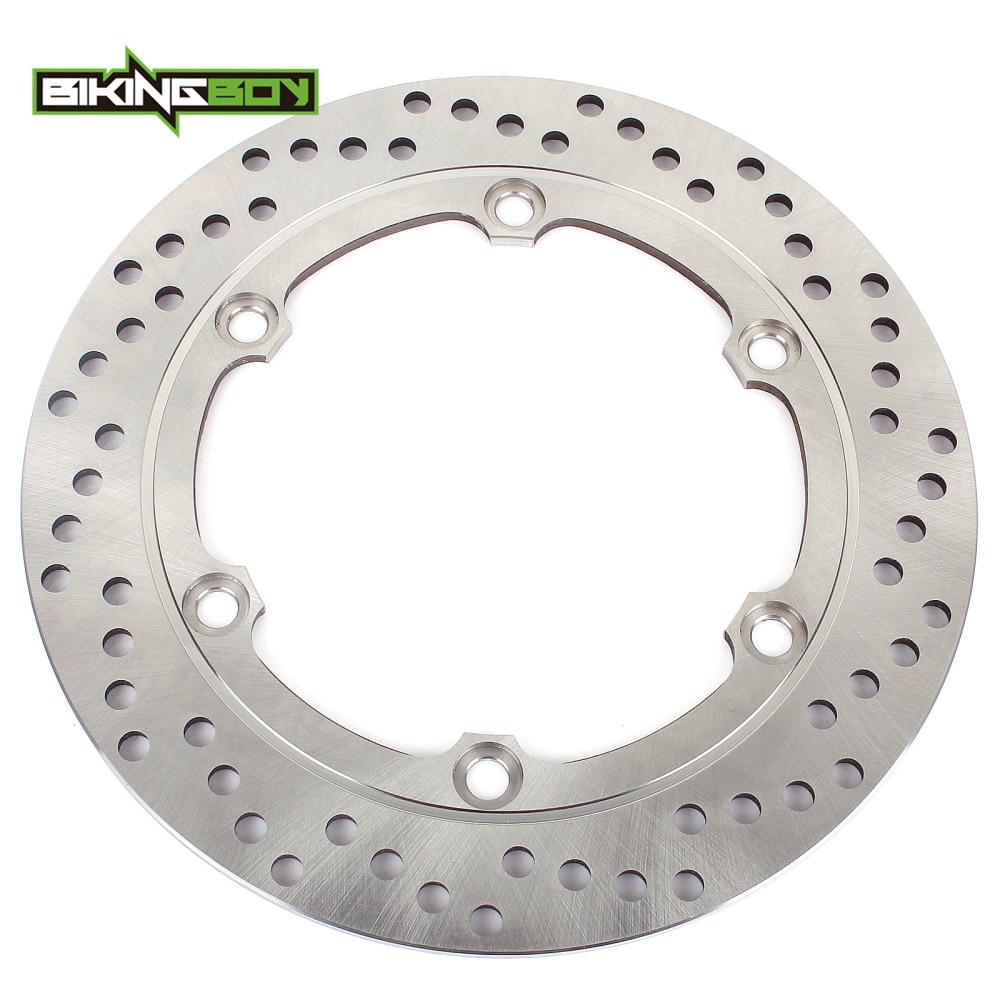 BIKINGBOY Rear Brake Disc Rotor For Honda CBR 1100 XX Blackbird SC35 97 08 CB 1100 SF X Eleven 00 04 CB 1300 F 03 06