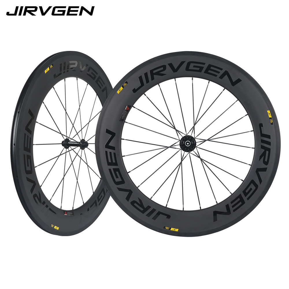 new 700c 3K carbon wheel surface 60mm carbon clincher road bike with basalt braking surface