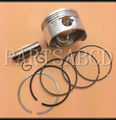 72mm GY6 250CC Water Cool Engine Piston Set GY6 250CC Scooter atv go kart
