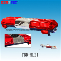 TBD-5L21 Superhellen Led-warnlichtbalken lightsbar/100 Watt Sirene + 100 Watt Lautsprecher/Blinkt feuerrettung warnlicht