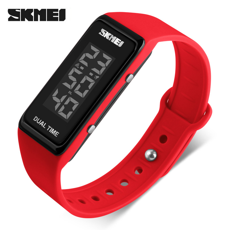 SKMEI Waterproof Fashion Sports Watches Women Alarm Chrono Clock Woman Digital Wristwatches Ladies Watch Relogio Feminino 2018 amuda gold digital watch relogio masculino waterproof led watches for men chrono full steel sports alarm quartz clock saat