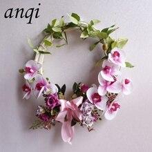 ФОТО artificial circular and heart shape wreath rose weeding decoration for weddings artificial rose for wedding artificial flowers