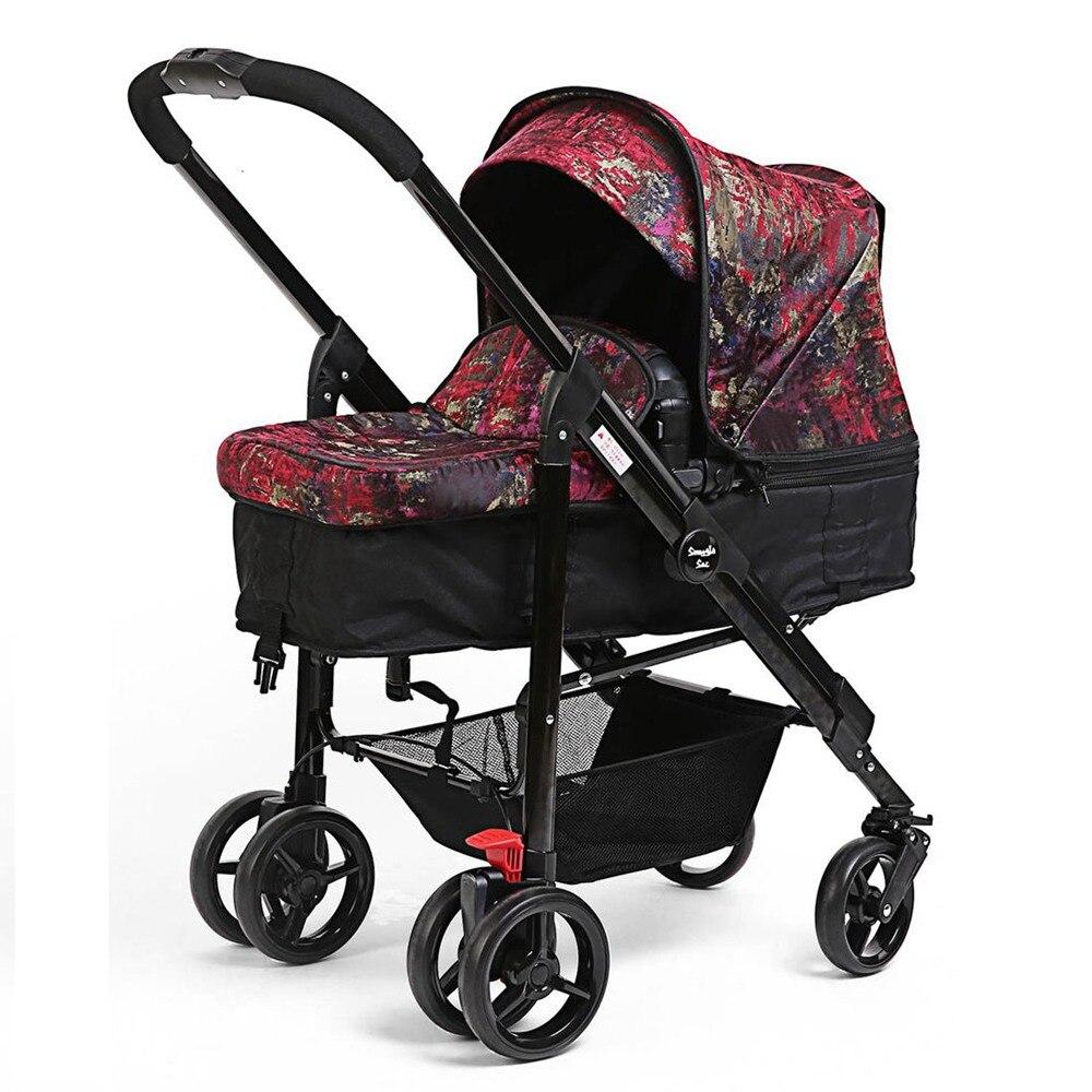 i-baby Draagbare Opvouwbare Paraplu Kinderwagen Snuggle Sac Monet - Activiteit en uitrusting voor kinderen - Foto 3