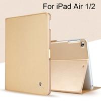 For Apple IPad Air 1 2 Case High Quality Fashion Design Business TPU PU Leather Protective
