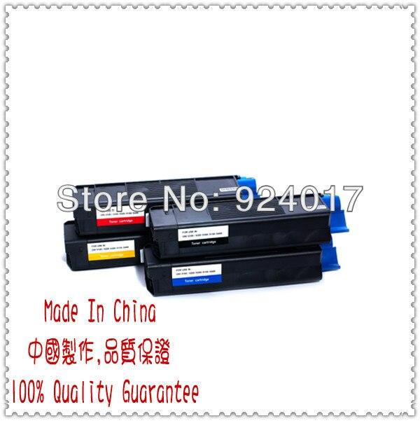 For Oki C5250 C5450 Toner Cartridge,For Okidata 42804545 42804546 42804547 42804548 Toner Reset,For Okidata C5510 C5540 Toner for oki c831 c841 reset toner cartridge chip