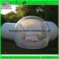 3 m Sala Principal + 3 m Anexar Sala + 2 M Entrada de acampamento ao ar livre tenda bolha, inflável clara gramado tenda Dome