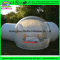 3m Main Room+3m Attach Room+ 2M Entrance outdoor camping bubble tent,clear inflatable lawn Dome tent