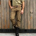 2017 casual military  casual men straight  water wash tooling multi pocket pants loose plus size casual pants  men