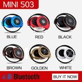 MINI503 Nueva Perfectos de La Llegada mini sport wireless auriculares bluetooth Música Estéreo Auriculares Bluetooth Computadora del teléfono auriculares de PC