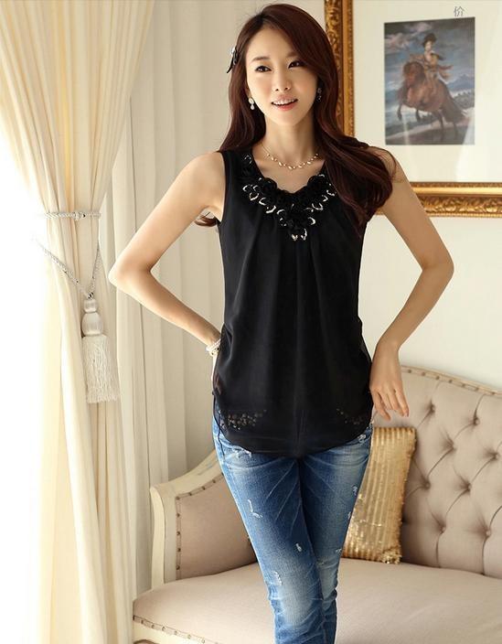 HTB1V9WPLXXXXXb XXXXq6xXFXXXN - Blusas femininas blouses blusa feminino Sleeveless Shirt S-6XL Plus Size