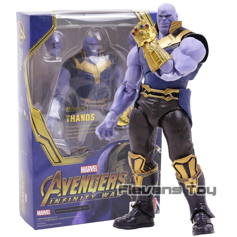 Tamashii Nazioni SHFiguarts Avengers: Infinity War Thanos Action Figure Da Collezione Model Toy