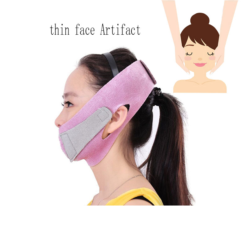 Thin Face Mask Face-lifting Tools Slimming Thin Face Masseter Double Chin Skin Thin Face Bandage Belt Female Facial Beauty Set