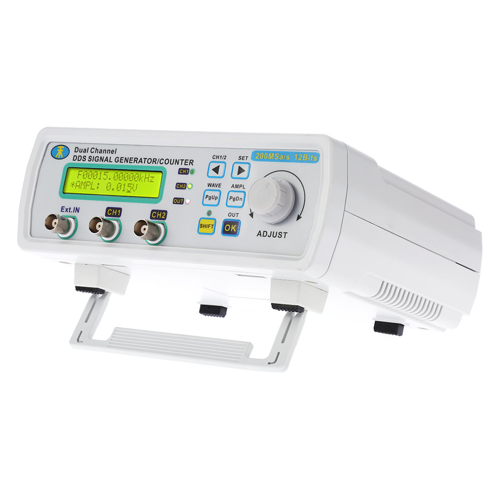 Digital DDS Function Signal Generator Arbitrary Waveform Dual-CH high frequency generator Power Signal Bandwidth 200MSa/s 25MHz купить