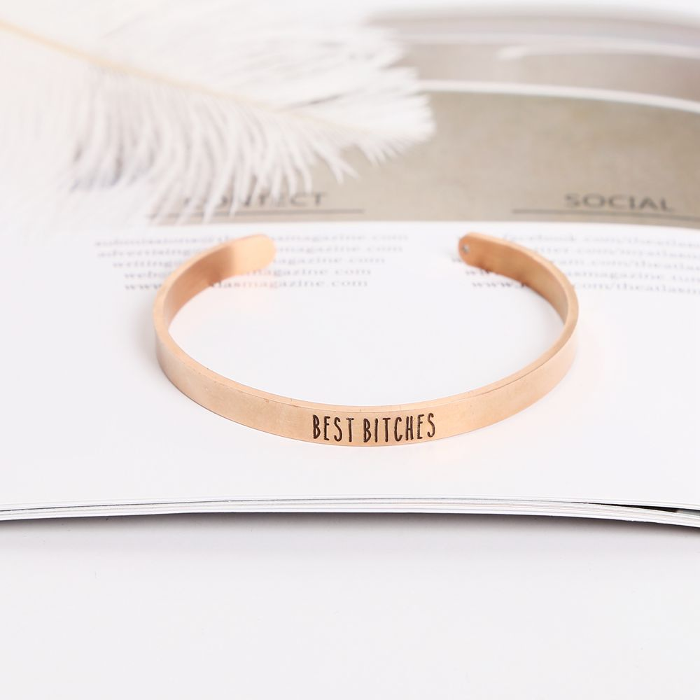SEVENSTONE 2019 New Fashion Charm Brand Bracelet Men Women Jewelry Wholesale Trendy Rose Gold Silver Gold Color Thin Bracelets in Strand Bracelets from Jewelry Accessories