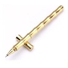 PASSION Handmade Brass Pen, Solid Portable Pocket Copper Pen, Christmas Gift Pen style2