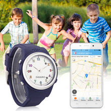 Kids Safety Smart Watch Diggro TD01-B Activity Tracker SOS Call SIM Card Children Watch With GPS LBS Location for Android IOS