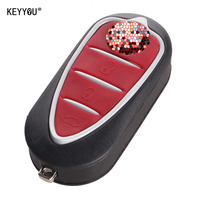 NEW REPLACEMENT Keyless Entry Case Folding Flip Remote Key Shell For Alfa Romeo Mito Giulietta 159