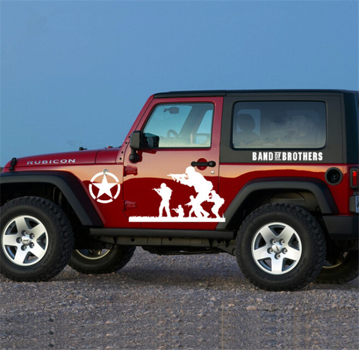 Popular Jeep Hood DecalBuy Cheap Jeep Hood Decal Lots From China - Vinyl decals for car body