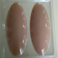 ONEFENG Free Shipping Silicone Leg Onlays Body Beauty Soft Pad Correction Of Leg Type Conceal Weaknesses