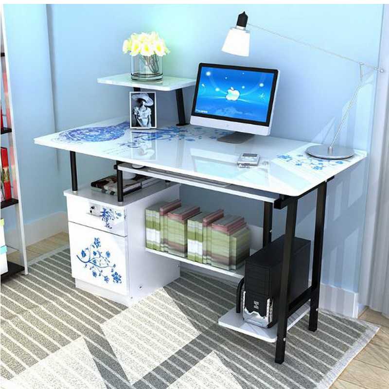 250326/Fold Lazy/simple/study Desk/Non Slip Sponge Foot/Thickened  Panel/Laptop Desk /Bed Computer Desk /Thickened Steel Pipe