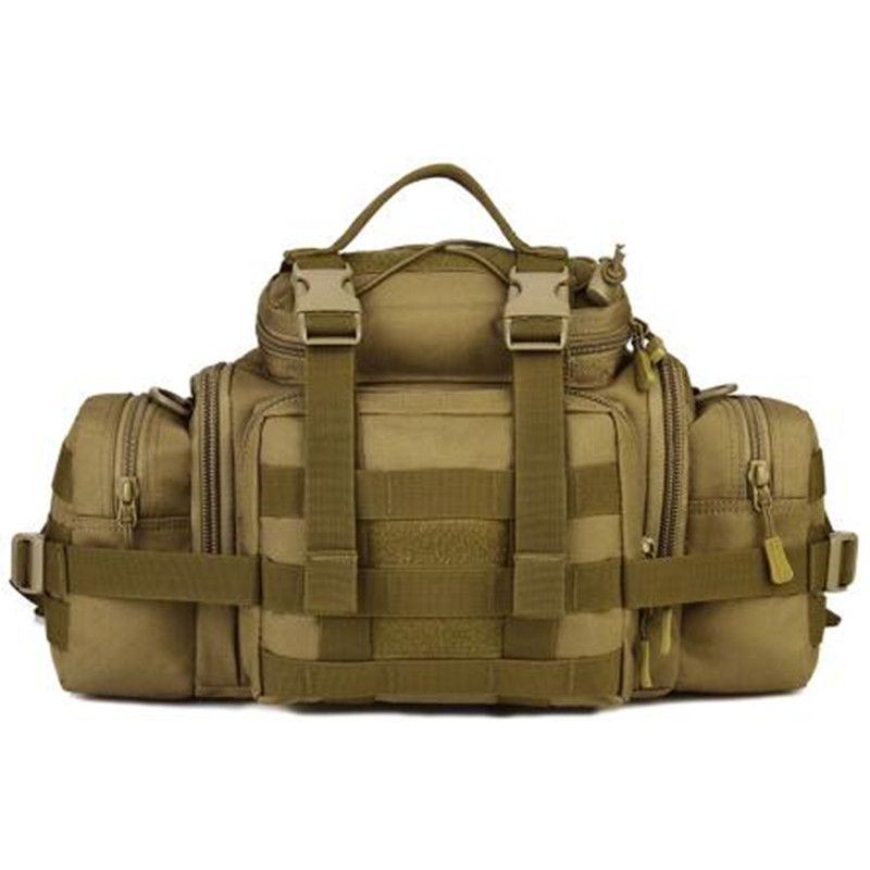 ФОТО New 2017 Tactics Military Waist Bags Waterproof SLR Cameras Waist Bags BELT BAG Tactics Large Shouder Messenger Bags HandbagS